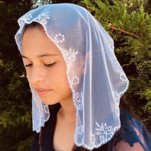 Saint Agnes Youth's Chapel Veils