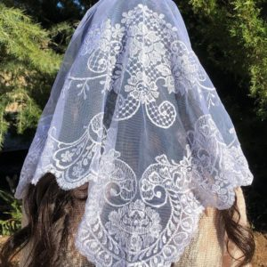 Spanish Lace Chapel Veils